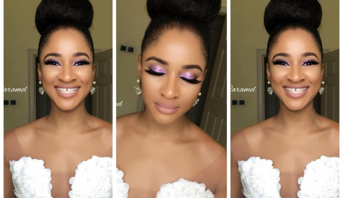 BRIDAL SHOWER: Star Actress Adesuwa Etomi Look Stunning in her Outfit