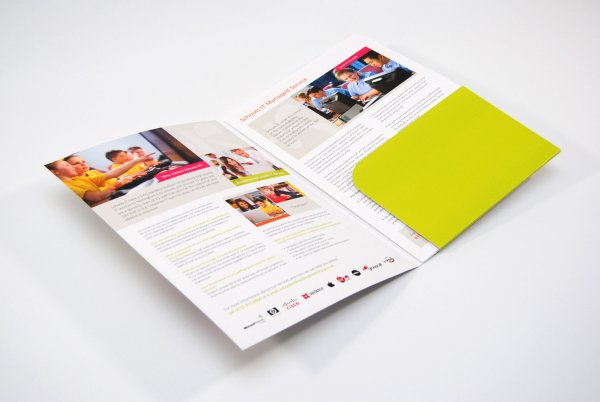 Information Technology Brochure Design Nottingham City