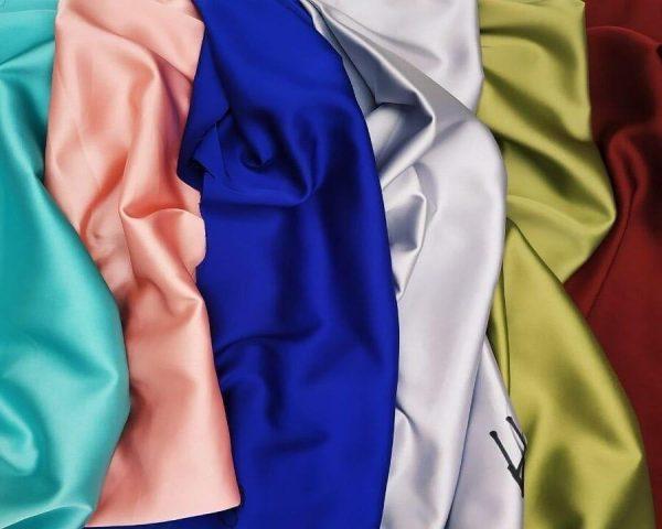 Ткань Шёлк-Армани однотонный купить оптом и в розницу недорого