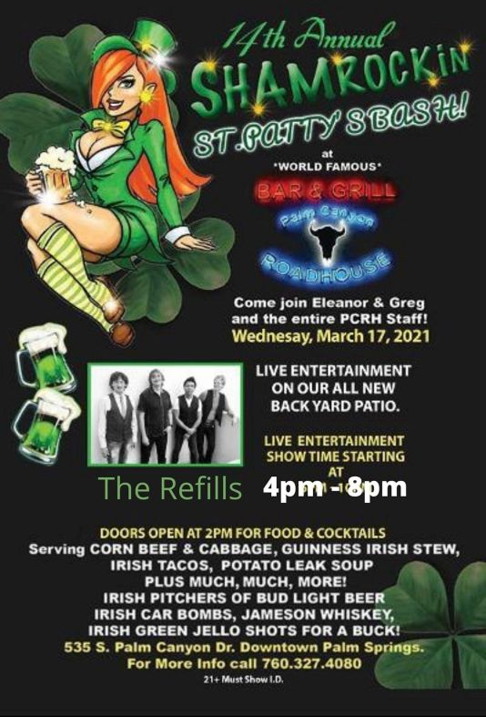 """St. Patricks Day Palm Springs"""