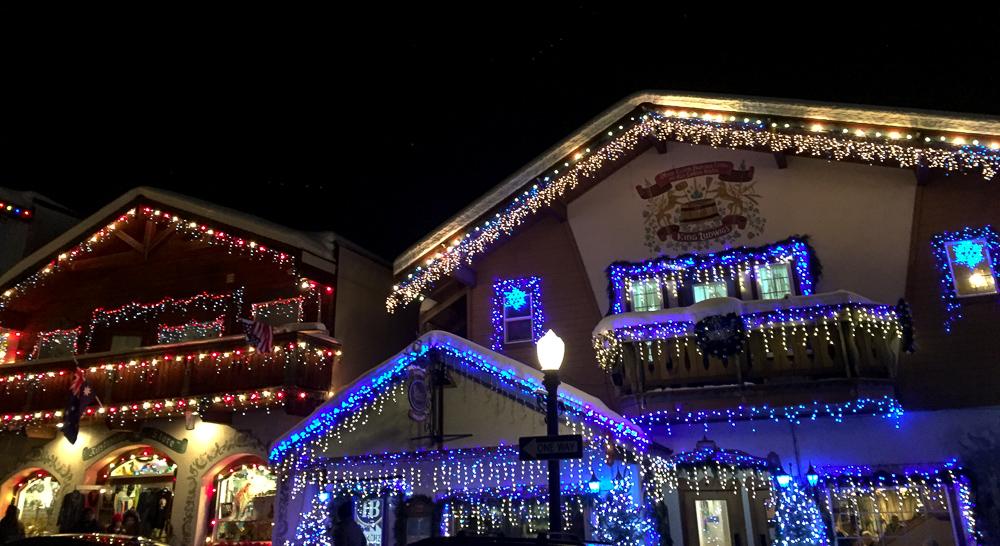 Leavenworth Washington Christmas 2019.Winter Wonderland In Leavenworth Washington Palm Tree Dreaming