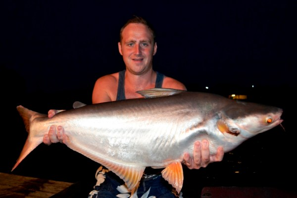 Guided Fishing Holidays in Thailand at Palm Tree Lagoon