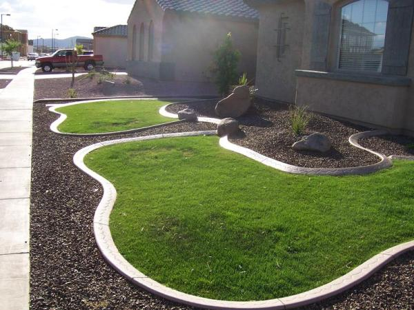 landscape curbing installed port