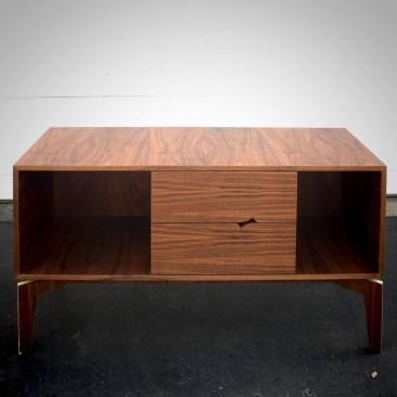 Modern TV Stand made with Walnut