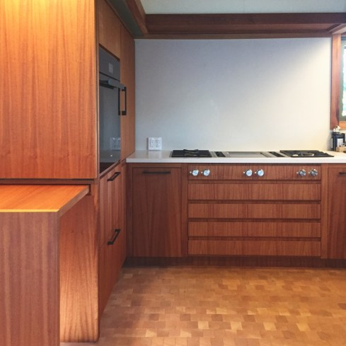 Modern Cabinetry in a Mid Century Modern House