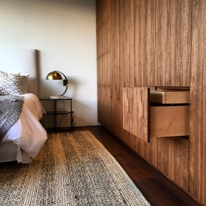 Wardrobe in Walnut Wood