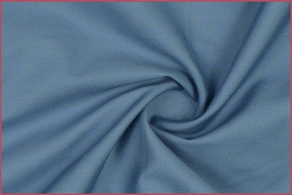 Baumwolle-uni-steinblau