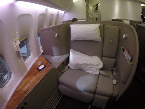 Image result for cathay pacific first class