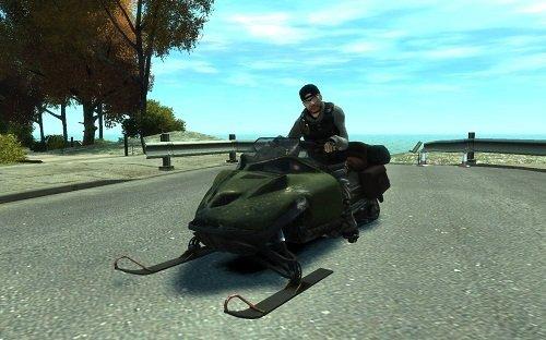 Trenó motorizado para GTA San Andreas