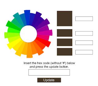 أداة لمعرفة شيفرة أي لون بسرعة