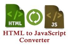 تحويل شيفرة JavaScript إلى شيفرة HTML