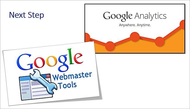 طريقة ربط حساب Analytics مع Webmaster Tools