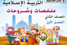 Photo of جميع الملخصات والشروحات لمادة التربية الإسلامية للصف الثاني الفصل الأول