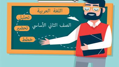 Photo of افضل خطط وتحليل وتحضير اللغة العربية – الصف الثاني – الفصل الاول