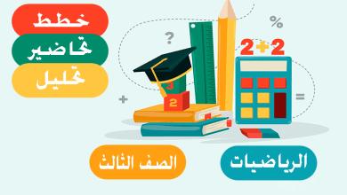 Photo of خطط وتحاضير وتحليل الرياضيات – الصف الثالث – الفصل الاول