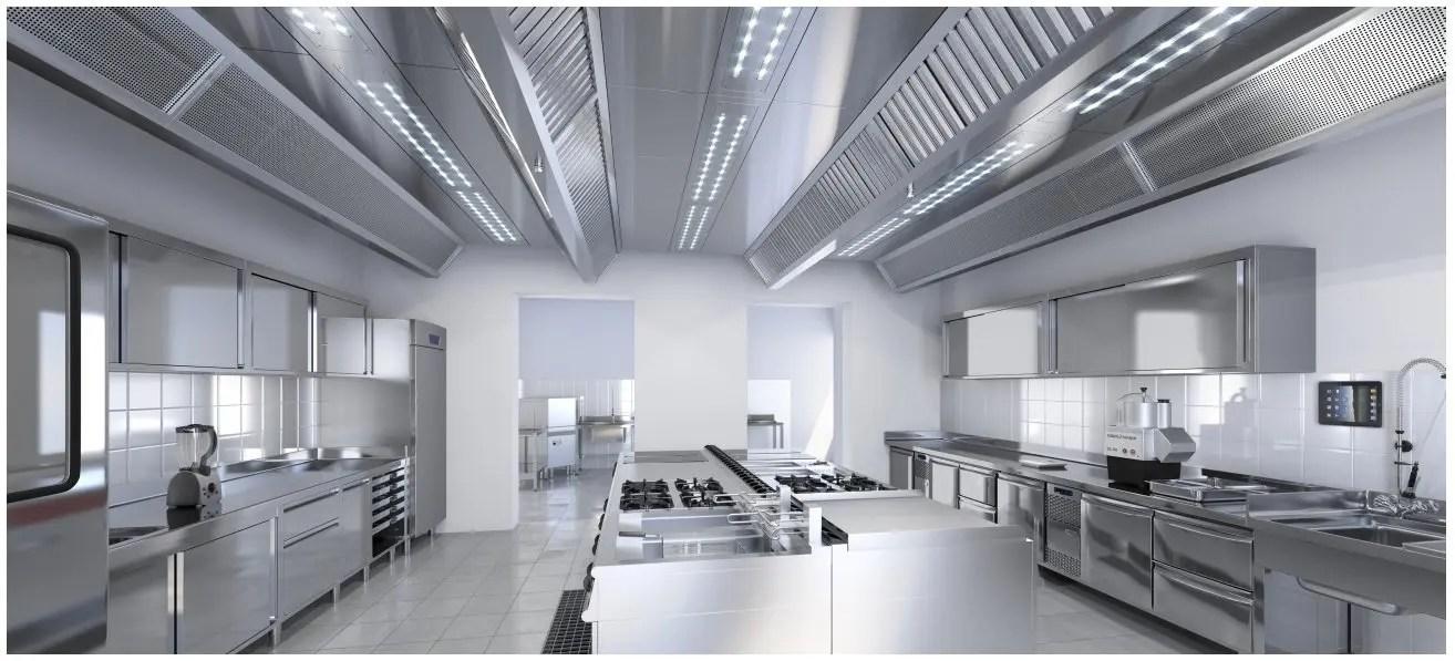 Arredamento neutro inox per Pastifici Gastronomie Ristoranti