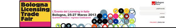 Il sito di Bologna licensing trade fair