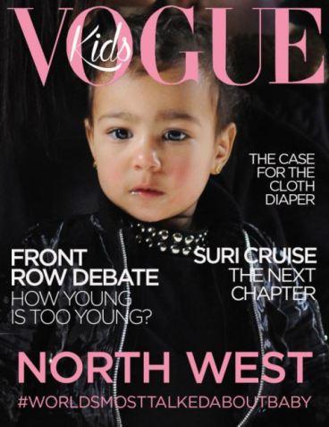 la fantomatica copertina di Vogue Kids.
