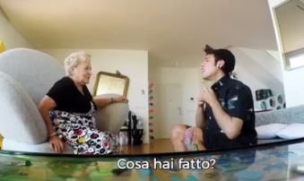 Mac ingaggia Fedez e la sua nonna