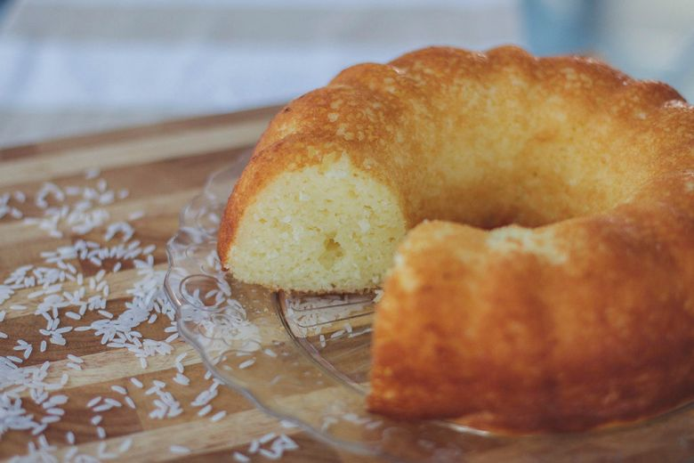bolo de arroz cru 2