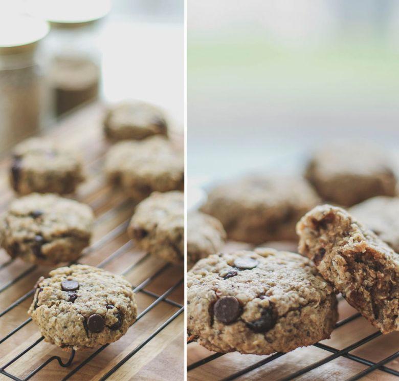 cookies quinoa chia aveia