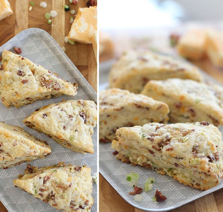 scones de bacon e cheddar 3
