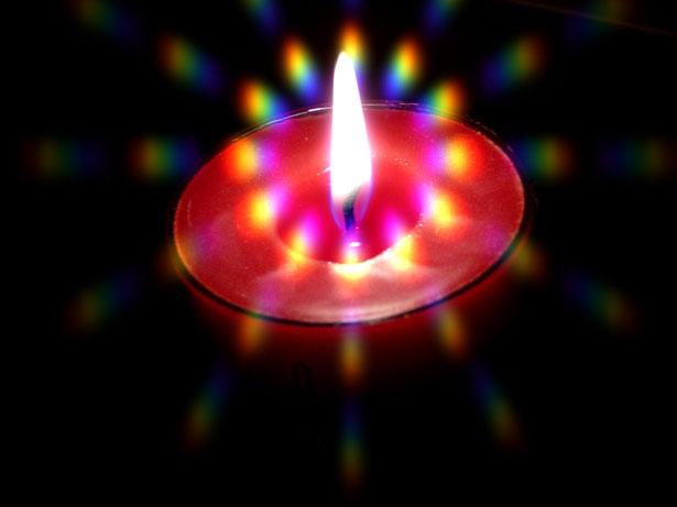 Meditazione con la candela