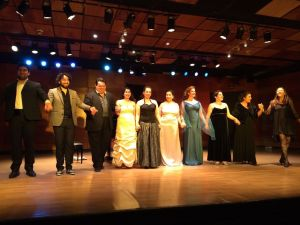 Master class Raminta Lampsatis, soprano Pamela Flores