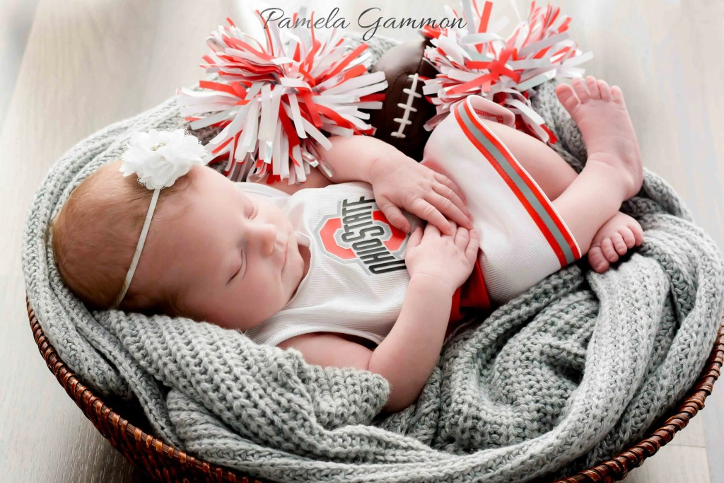 Portsmouth OH Baby Cheerleader Photography