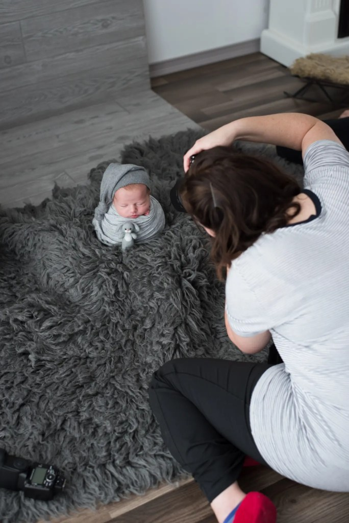 Mentoring Newborn Photography