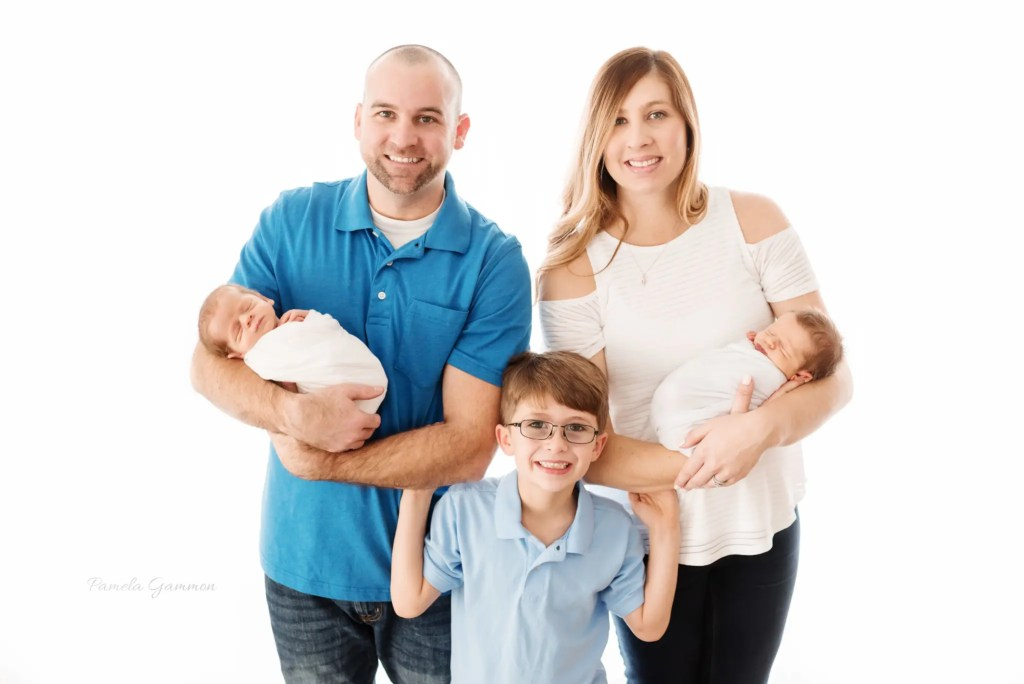 Southern Ohio Newborn Twin Photography