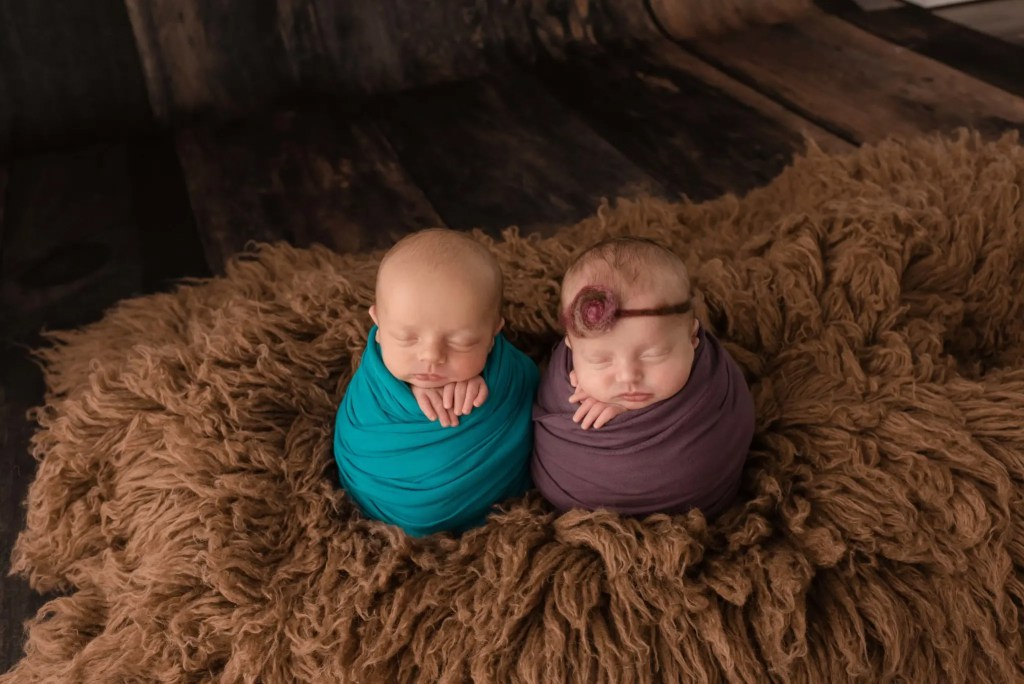 Ohio Newborn Twin Session