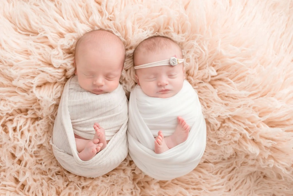 Twin Newborn Photography Session Southern Ohio