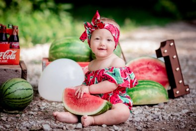 Watermelon Smash Session Photography