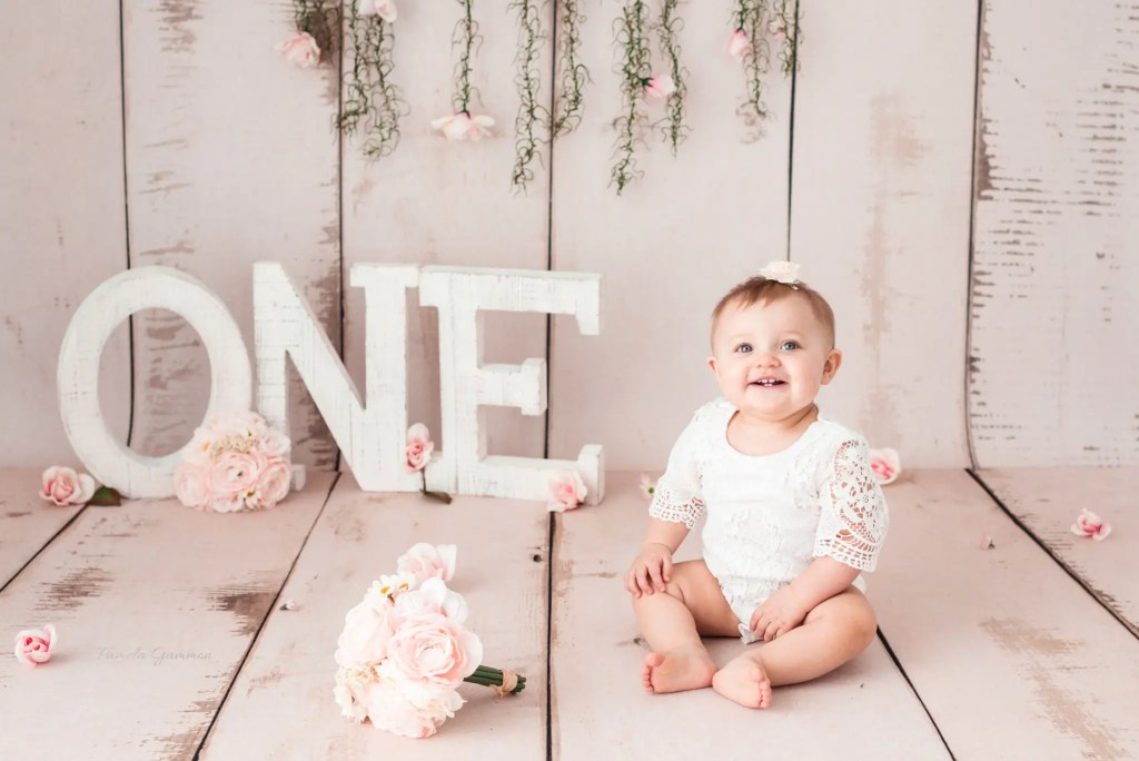 One Year Session Kentucky Baby Photographer