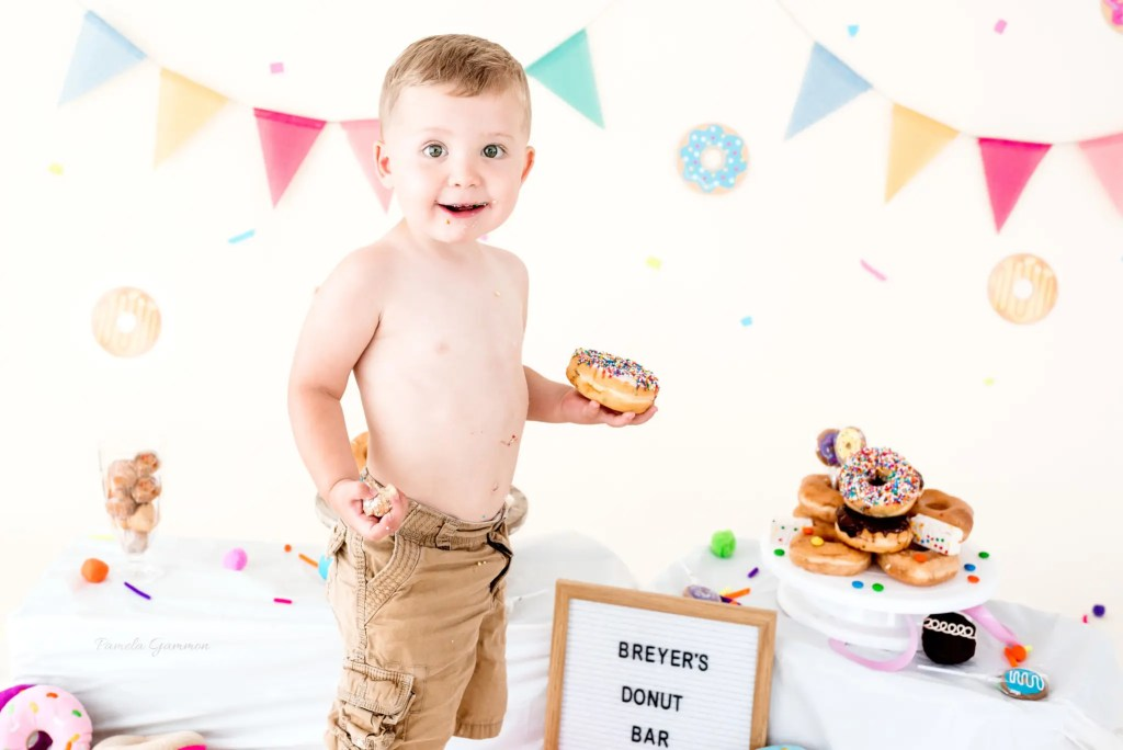 Donut Smash Photography Session
