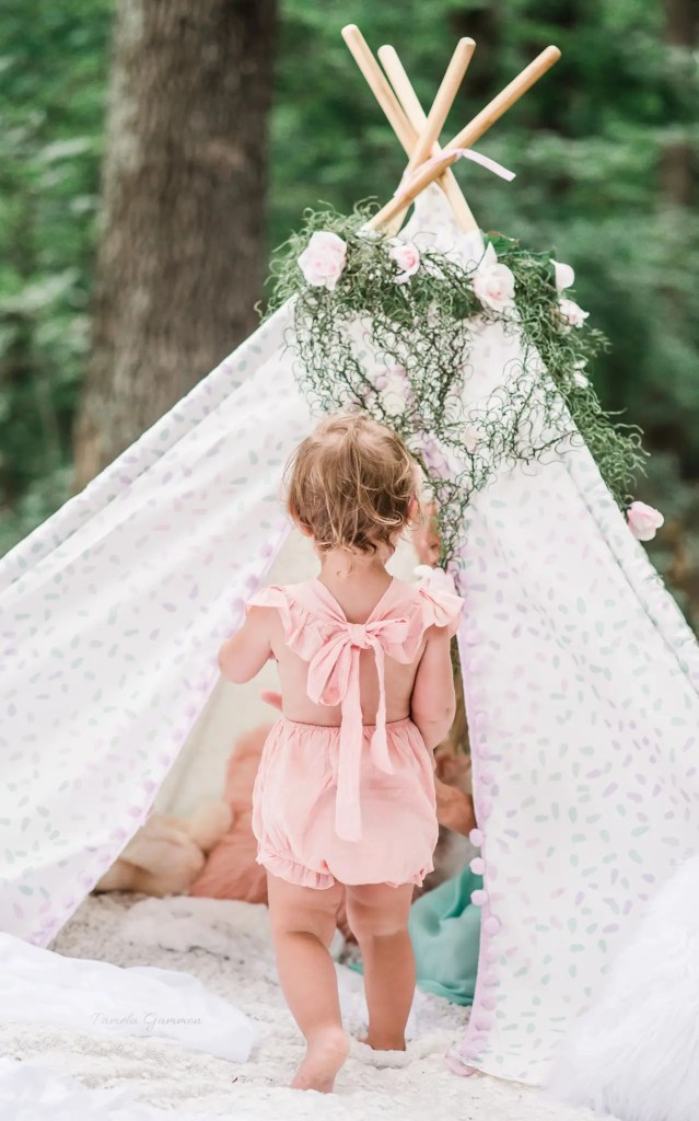 Teepee Party Imagination Session