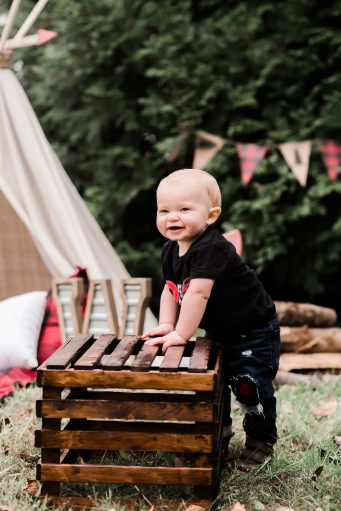 Portsmouth Ohio 1st Birthday Photography