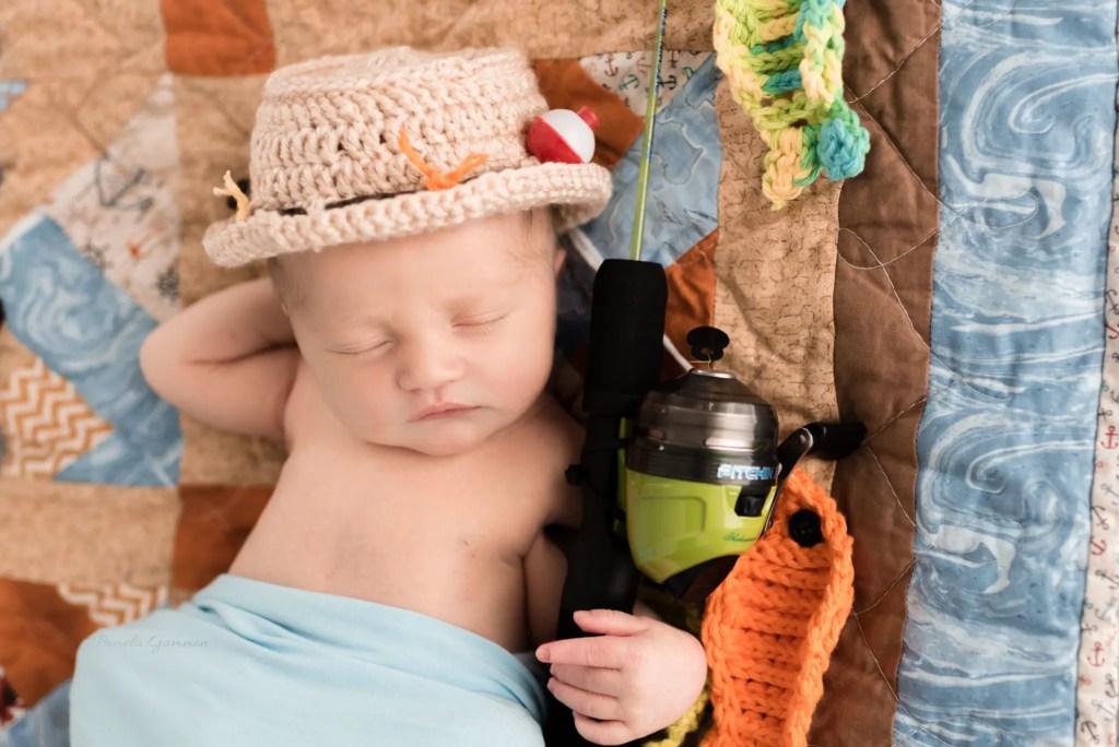 Newborn Boy Photography Session