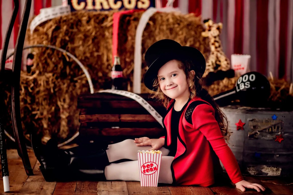 Circus Photography Kids