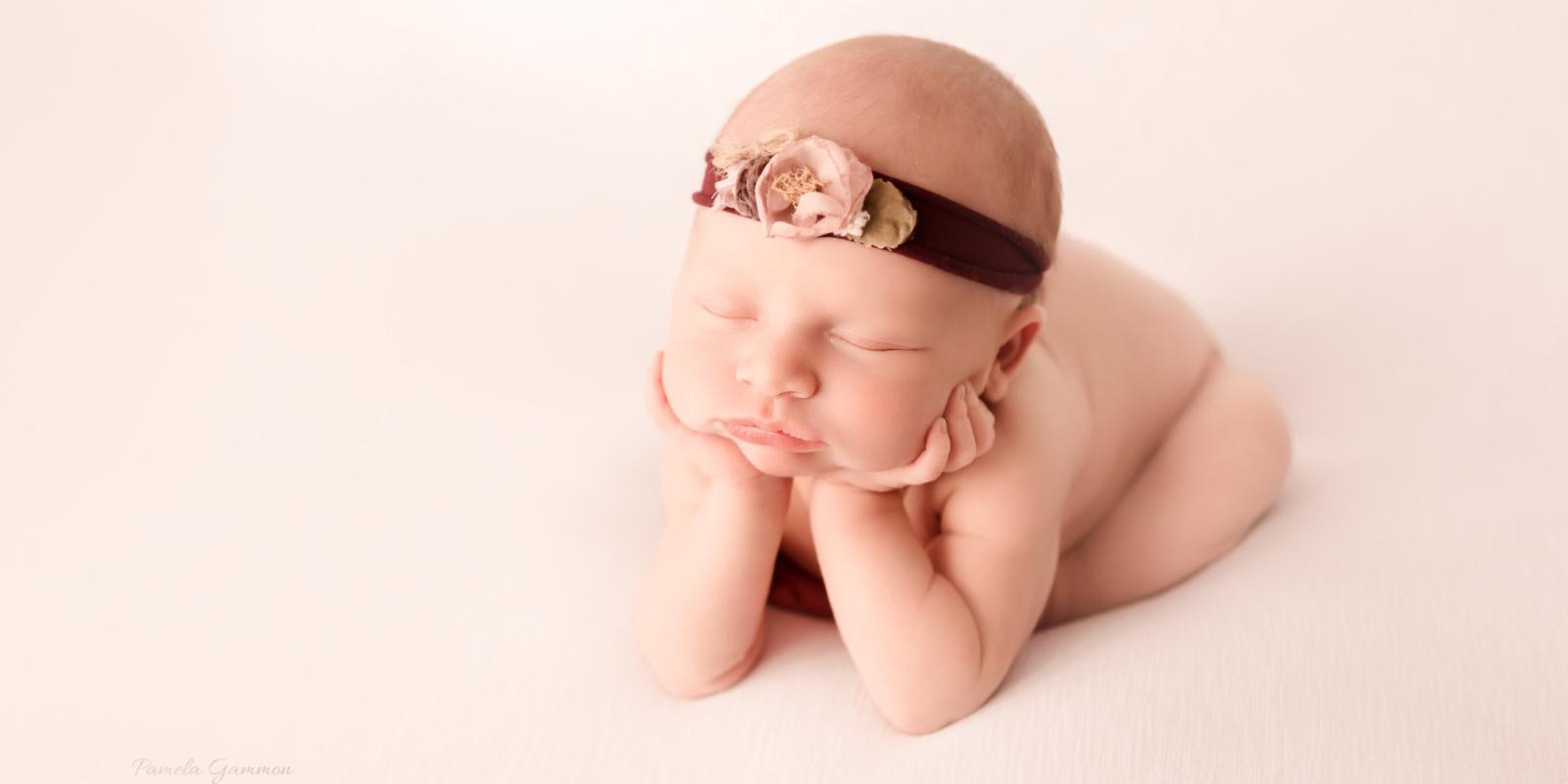 Newborn Girl Photography Session