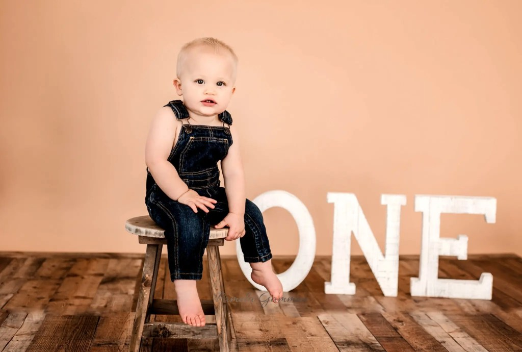 12 Months Baby Session