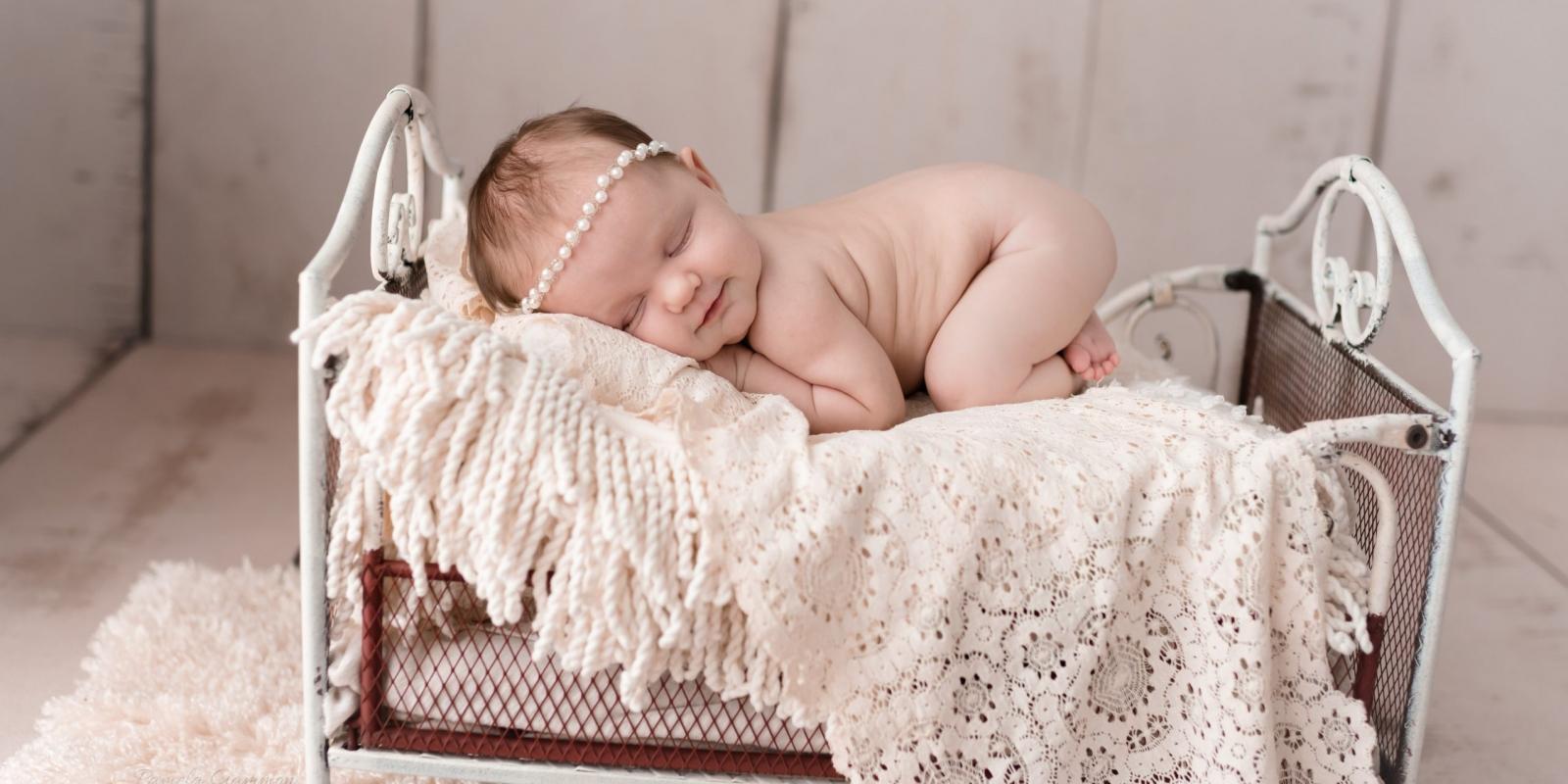 Newborn Girl Pictures Wheelersburg Ohio