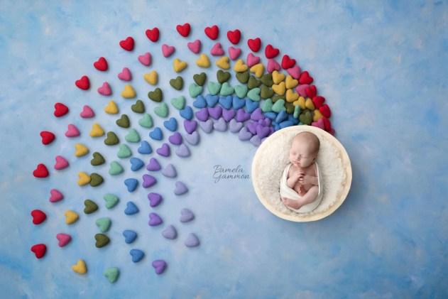 Photographer Rainbow Baby Photography