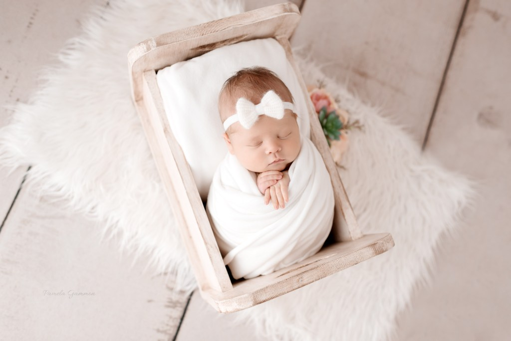 Newborn Girl Photography Session Portsmouth