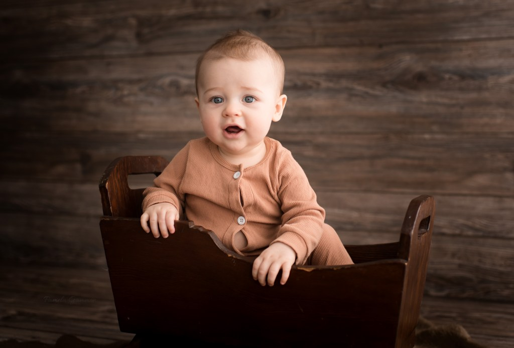 Otway Ohio 6m Old Baby Photography Session