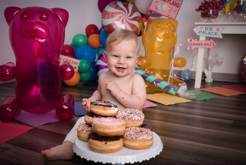 Donut Smash Photography Session
