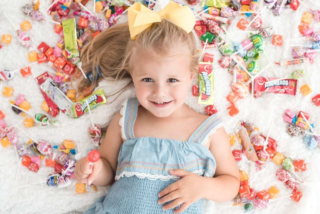 Child Photography Candy Session