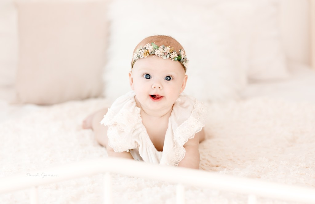 Portsmouth Ohio Baby Photographer 6 months
