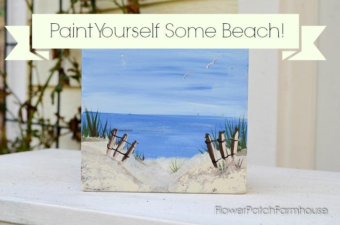 Paint a Beautiful Beach Scene